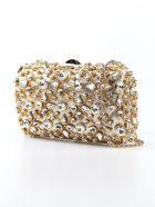 Rodo Embellished Shoulder Bag - Oro