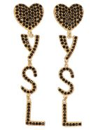 Saint Laurent Earrings - Or Laiton Noir