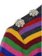 Ganni Cashmere Knit Multicolor Pullover - MULTICOLOR