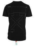 Off-White Off White Logo Print T-shirt - BLACK