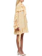 Rokh Ruffled Dress - Rosa giallo