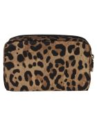 Dolce & Gabbana Leopard Print Beauty Case - leopard print
