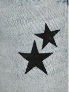AMIRI Star Patches Denim Skirt - SKY INDIGO
