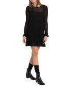 M Missoni Lurex Knit Midi Dress - Nero
