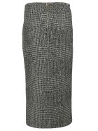 Rochas Plaid Pencil Skirt - Black