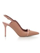 Malone Souliers Buckle Strap Pumps - Nude Nude