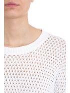Theory Cotton Nylon Karenia Sweater - white