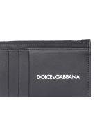Dolce & Gabbana Logo Cards Holder - Nero