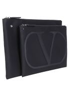 Valentino Garavani Document Case - Nero