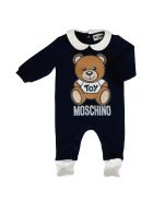 Moschino Cotton Jump Suit - BLUE