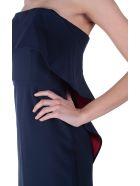 Bcbg Max Azria Montana Crepe Strapless Dress - Blu