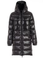 Duvetica Padded Jacket Interior In Contrast - Nero
