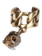 Alexander McQueen Gold-tone Steel Ear Cuff - Gold