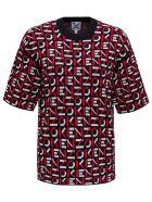 Kenzo Allover Logo T-shirt - Rosso