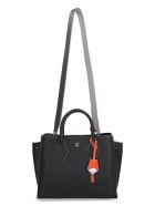 MCM Milla Leather Handbag - black