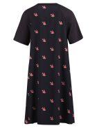 McQ Alexander McQueen Printed Dress - Black