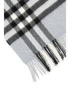 Burberry Giant Check Scarf - DUSTY BLUE (Grey)