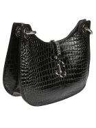 Jimmy Choo Vaenne Shoulder Bag - Black