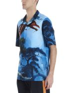 Valentino 'dragon Garden' Shirt - Multicolor