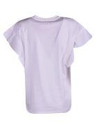 Victoria Beckham Flared T-shirt - WHITE