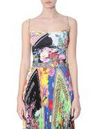 Versace Bloom Print Top - MULTICOLOR