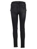 Ben Taverniti Unravel Project Unravel Lace-up Skinny Jeans - BLACK