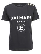 Balmain T-shirt - Noir blanc