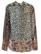Pierre-Louis Mascia Shirt L/s Animalier - Leopard