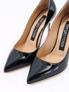 Sergio Rossi Pumps Godiva Patent Black - Black