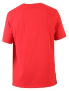 MSGM Branded T-shirt - RED