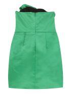 Giuseppe di Morabito Satin Bustier Dress With Maxi Bow - green