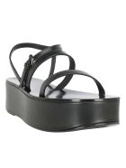 The Row Wedges - Black