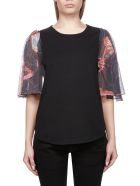 See by Chloé Butterfly-sleeved T-shirt - Basic