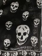 Alexander McQueen Black Modal-silk Blend Scarf - Black