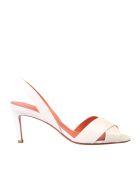 Santoni White Sandals - White