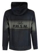 C.P. Company Basic Fleece Hooded Sweatshirt - Navy