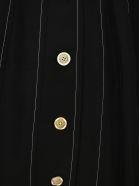 Marni Puff Sleeves Midi Dress - BLACK