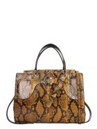 Paula Cademartori Margareth  Hand Bag In Brown Leather - brown