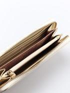 Borbonese Printed Zip Around Wallet - Cream