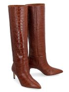 Paris Texas Leather Knee-boots - brown