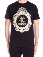 Billionaire 'press For Champagne' T-shirt - Black