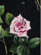Dolce & Gabbana Cropped Poplin Shirt - Fantasia