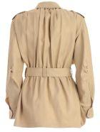 Alberta Ferretti Belted Coat - Beige