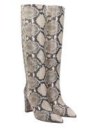The Seller High Heels Boots In Animalier Leather - Animalier