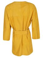 DROMe Wrap-around Coat - Yellow