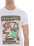 Dsquared2 Graphic Print T-shirt - White