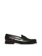 Prada Logo Patch Loafers - Nero