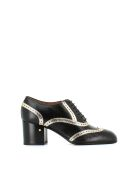 """Laurence Dacade Brogues Lace Up Shoes """"victoria 000158"""" - Black/gold"""