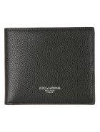 Dolce & Gabbana Logo Print Wallet - Black