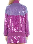 Alberta Ferretti 'raimbow Week' Jacket - Purple